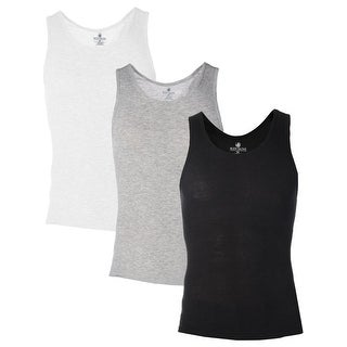 Body Glove Mens Tank Top 4 Pack Breathable