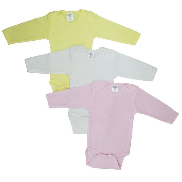 Bambini Boys' Pastel Long Sleeve Onezie - Size - Newborn - Girl