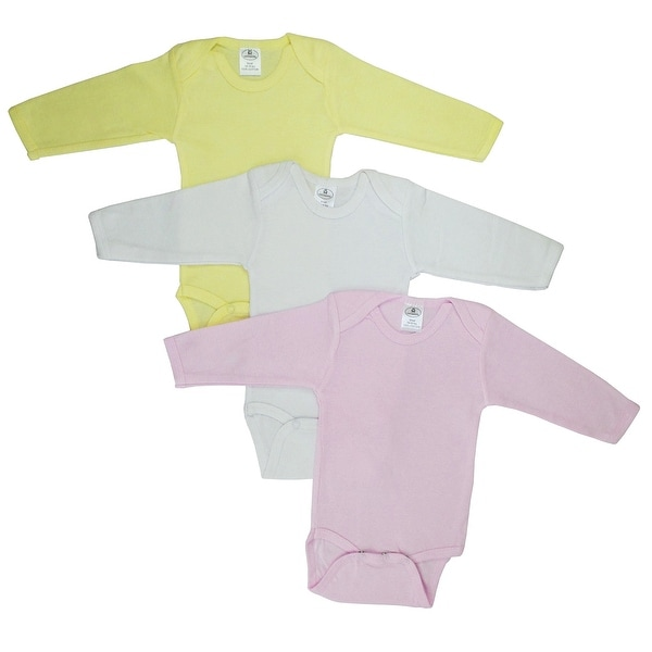 Bambini Boys' Pastel Long Sleeve Onezie - Size - Small - Girl