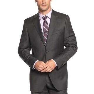 Ralph Lauren Slim Fit Charcoal Striped Wool 2-Button Sportcoat 40 Long 40L
