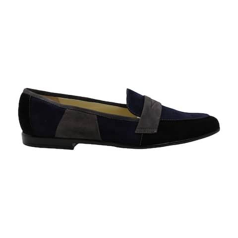 Amalfi by Rangoni Womens Oriana Leather Almond Toe Loafers