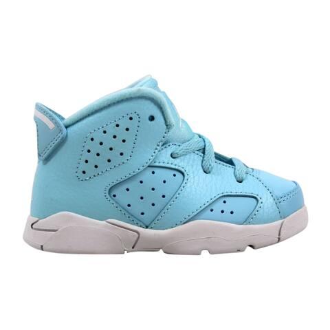 725f655fd83f Nike Air Jordan VI 6 Retro GT Still Blue White-White Pantone 645127-