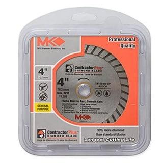 """MK Diamond 166998 Continuous Rim Diamond Blade, 4"""""""