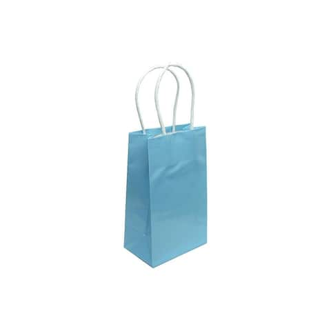 Cindus Gift Bag Clay Coat Sm Baby Blue