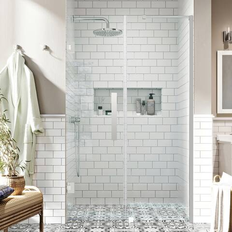 """Endless TP0180100 Tampa-Pro Alcove 57 3/16 to 58 3/8"""" W x 72"""" H CHR"""
