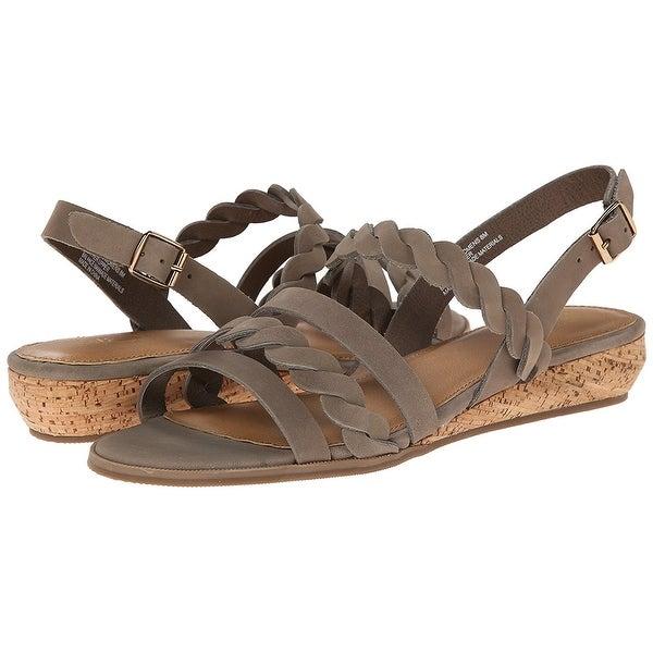 G.H. Bass & Co. NEW Gray Women's Shoes Size 6.5M Jolie Sandal