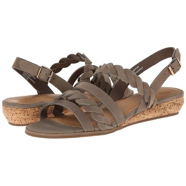 G.H. Bass & Co. NEW Gray Women's Shoes Size 7W Jolie Sandal