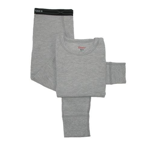 Hanes Boys' Thermal Underwear Set