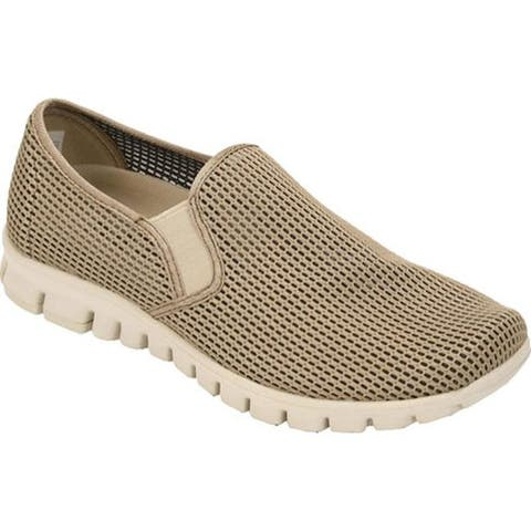 Deer Stags Men's Wino Mesh Slip-On Taupe Mesh
