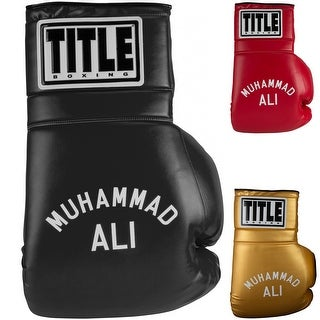 "Title Boxing Jumbo 26"" Ali Name Collectible Novelty Boxing Glove"
