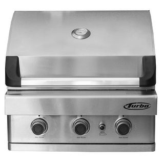 Barbeques Galore 2017 Turbo 3-Burner Built-In Gas Grill