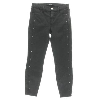J Brand Womens Cropped Jeans Embellished Cropped