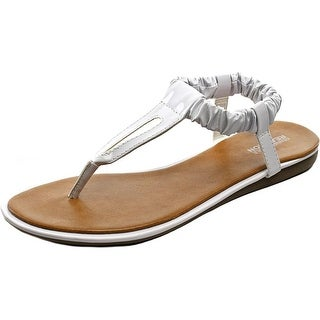 Kenneth Cole Reaction River Float Open Toe Synthetic Thong Sandal