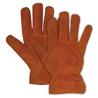Boss 4176B Ladies' Pile Insulated Split Leather Gloves