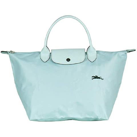 LongChamp Womens Le Pliage Nuaga Blue Club Top Handle Tote Medium