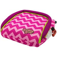 BubbleBum Booster Seat Chevron/Neon Pink Booster Seat