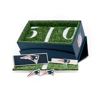 New England Patriots 3-Piece Gift Set - navy