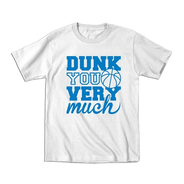 b4d903a5a Shop Dunk You Very Much Cool Funny Youth Tee Shirt - Free Shipping On  Orders Over $45 - Overstock - 24327698