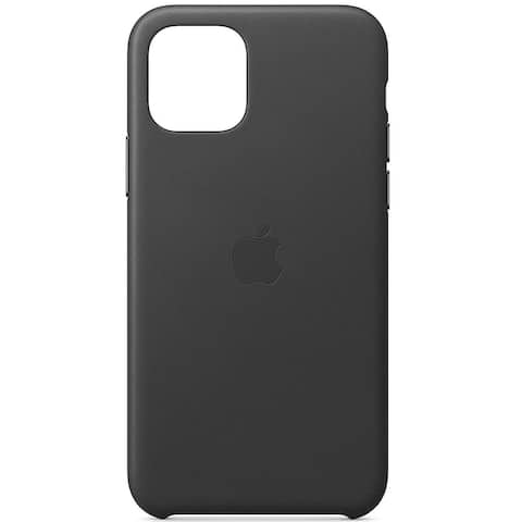 Apple Leather Case for iPhone 11 Pro Max - Black