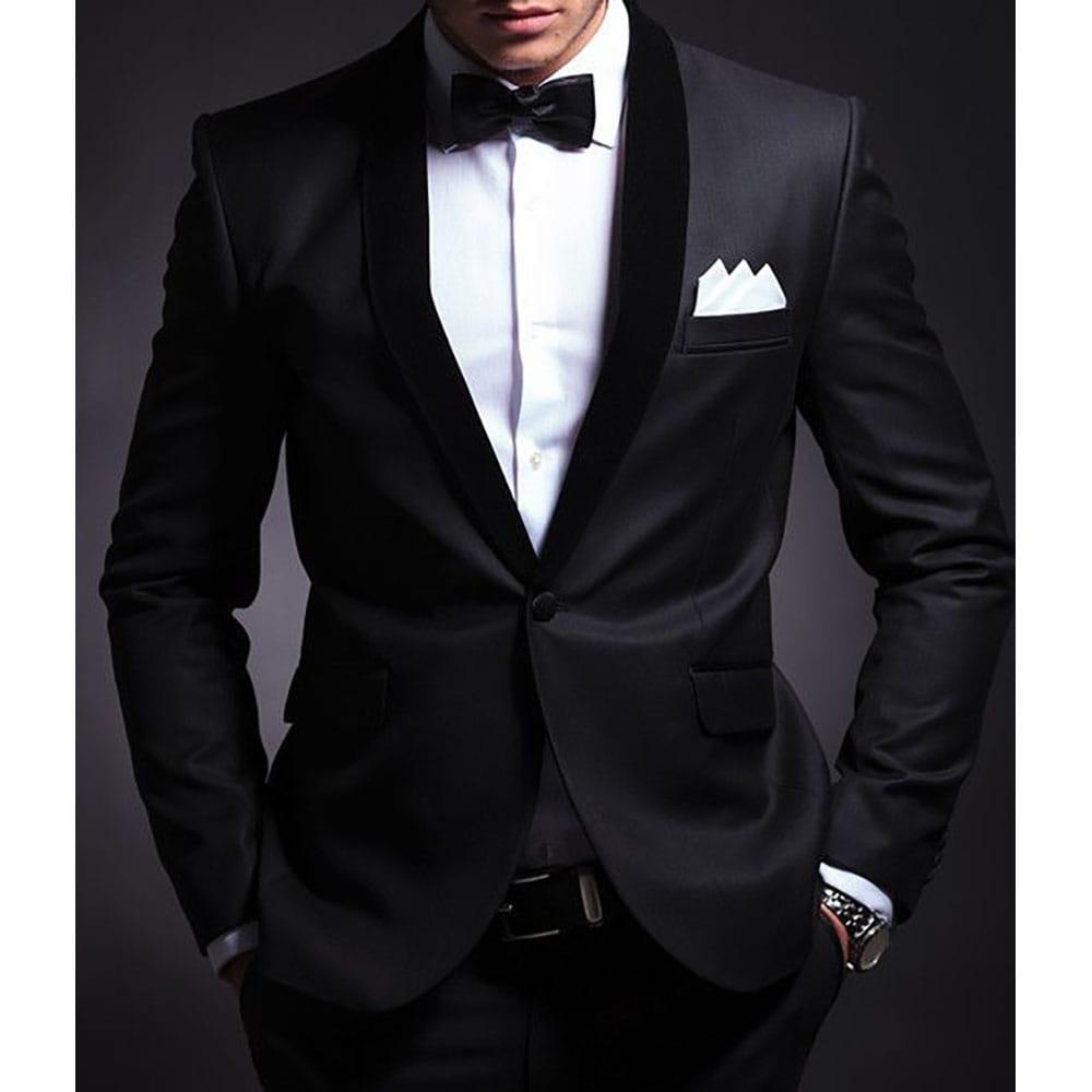 Mens Fashion Premium Gentleman Wedding Party Classic Adjustable Satin Bow Tie