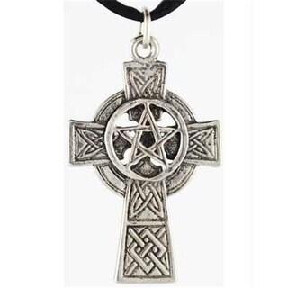AzureGreen JCCP4 Celtic Cross Pentagram Pendant