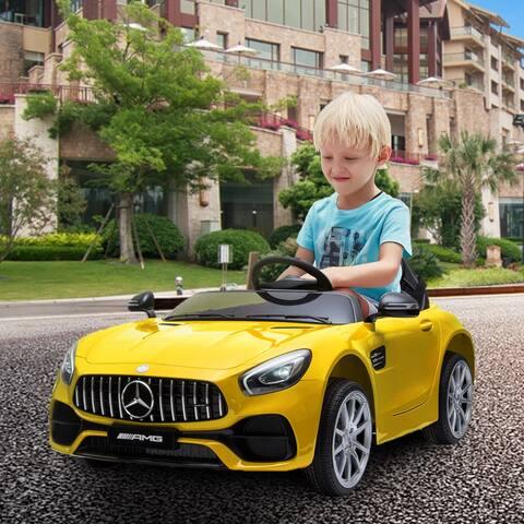 "BENZ GT Car LZ-920 Dual Drive 35W*2 Battery 12V 2.4G Remote Control - 7'6"" x 9'6"""