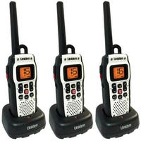 Uniden Atlantis 150 (3 Pack) Floating VHF Marine Radio with Digital Squelch