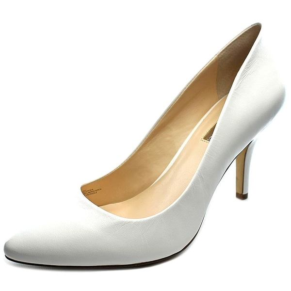 INC International Concepts Womens Zitah Leather Pointed Toe Classic Pumps - 7.5