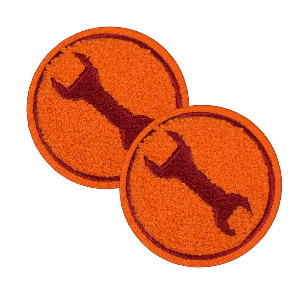 Team Fortress 2 Engineer Patches: Set of 2, Team Red