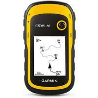 Garmin eTrex 10 Waterproof Handheld GPS w/ Bulit-in Worldwide Basemap & Custom POIs