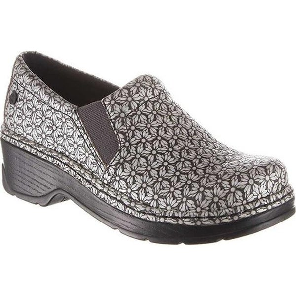 e20f551d476f Shop Klogs Women s Naples Clog Silver Milli Leather - Free Shipping ...