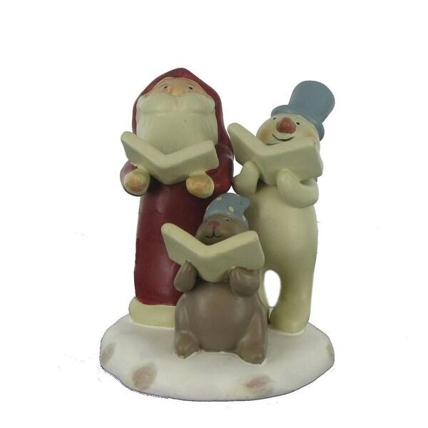 "Russ ""Peace in the Meadow"" Carolers Figurine - 3"" x 4"""