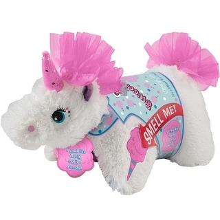 """Sweet Scented 16"""" Pillow Pets: Cotton Candy Unicorn - multi"""