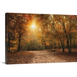 """Golden"" Canvas Wall Art"