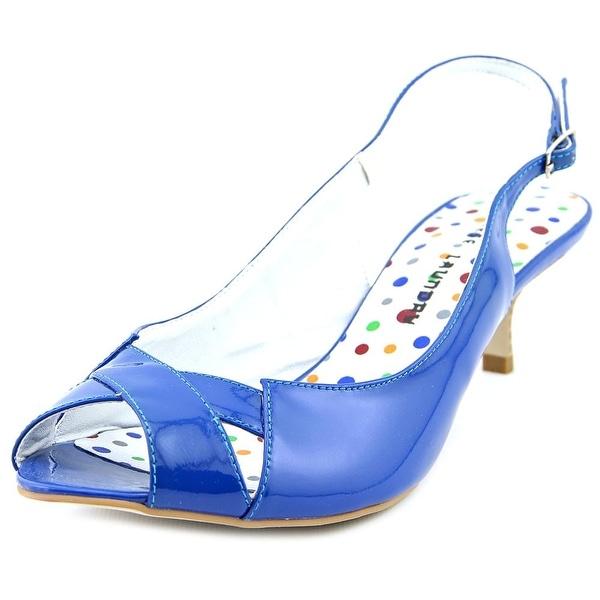 Chinese Laundry Hilary   Open-Toe Patent Leather  Slingback Sandal