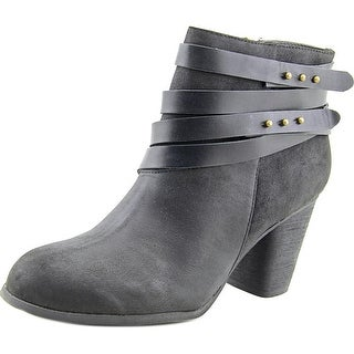 Madden Girl Deluxe   Round Toe Synthetic  Ankle Boot