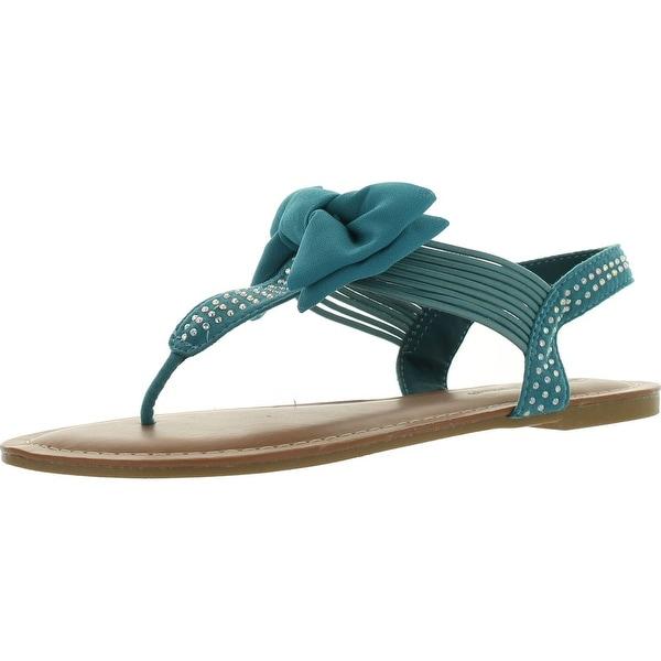 Pierre Dumas Women's Roxy-3 Bow Sandal