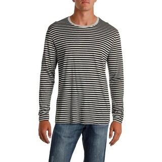 Polo Ralph Lauren Mens Sleep Shirt Striped Long Sleeve - L