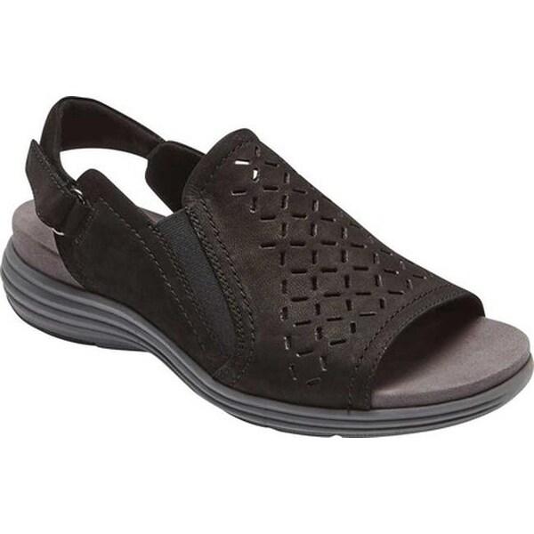 Aravon Womens Beaumont Peep Sling Sandal