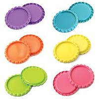 "Bright - Vintage Collection Flattened Bottle Caps 1"" 30/Pkg"