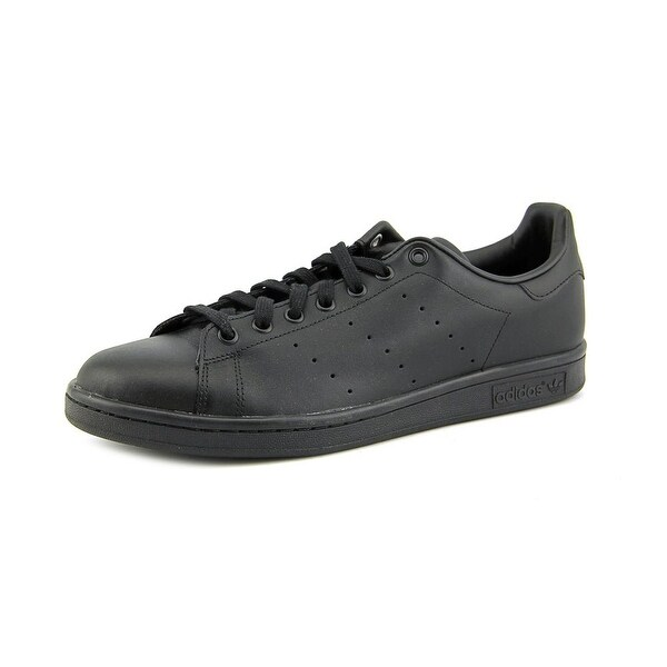 Adidas Stan Smith Men Round Toe Leather Black Sneakers