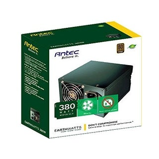 Antec EarthWatts EA-380D Green 380 Watt 80 PLUS BRONZE Power Supply