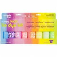 Tumble Dye Craft & Fabric Tie-Dye Kit 2oz 8/Pkg-Neon
