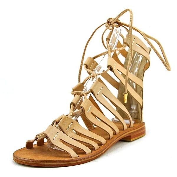 MTNG Eden Open Toe Leather Gladiator Sandal