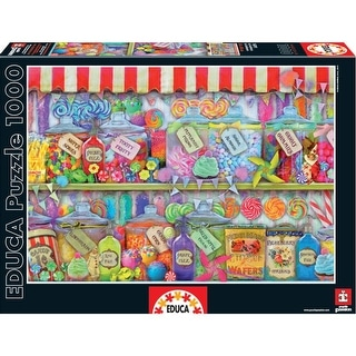 Candy Shop 1000 Piece Puzzle