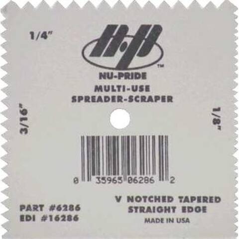 Marshalltown 16286 Spreader/Scraper With Tapered Edge
