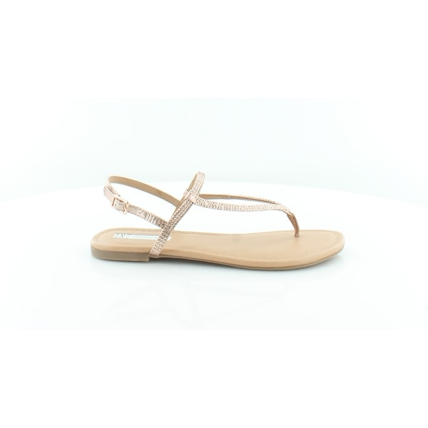 INC International Concepts Macawi Women's Sandals & Flip Flops Rose Pearl - 6.5