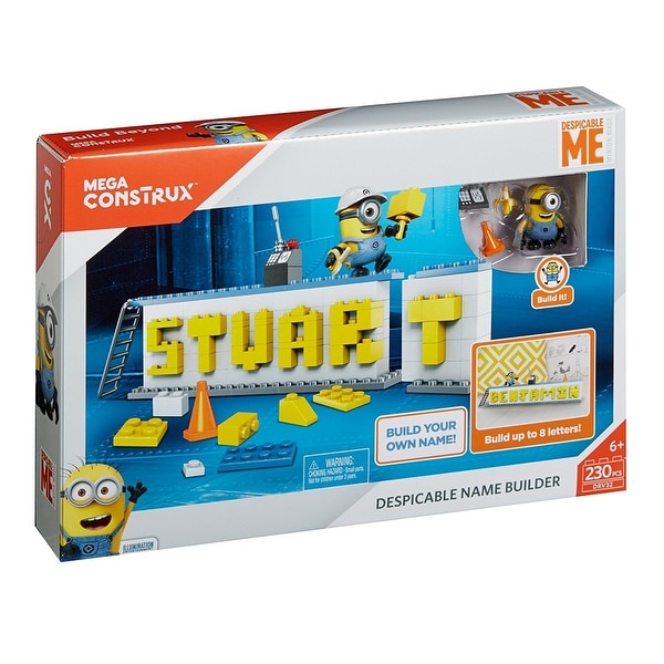 Magnificent Shop Mega Construx Despicable Me Name Builder Set Ships To Caraccident5 Cool Chair Designs And Ideas Caraccident5Info