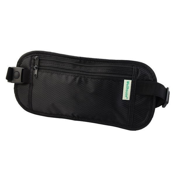 Wellhouse Authorized Keys Phone Pouch Holder Jogging Sports Waist Bag Black S