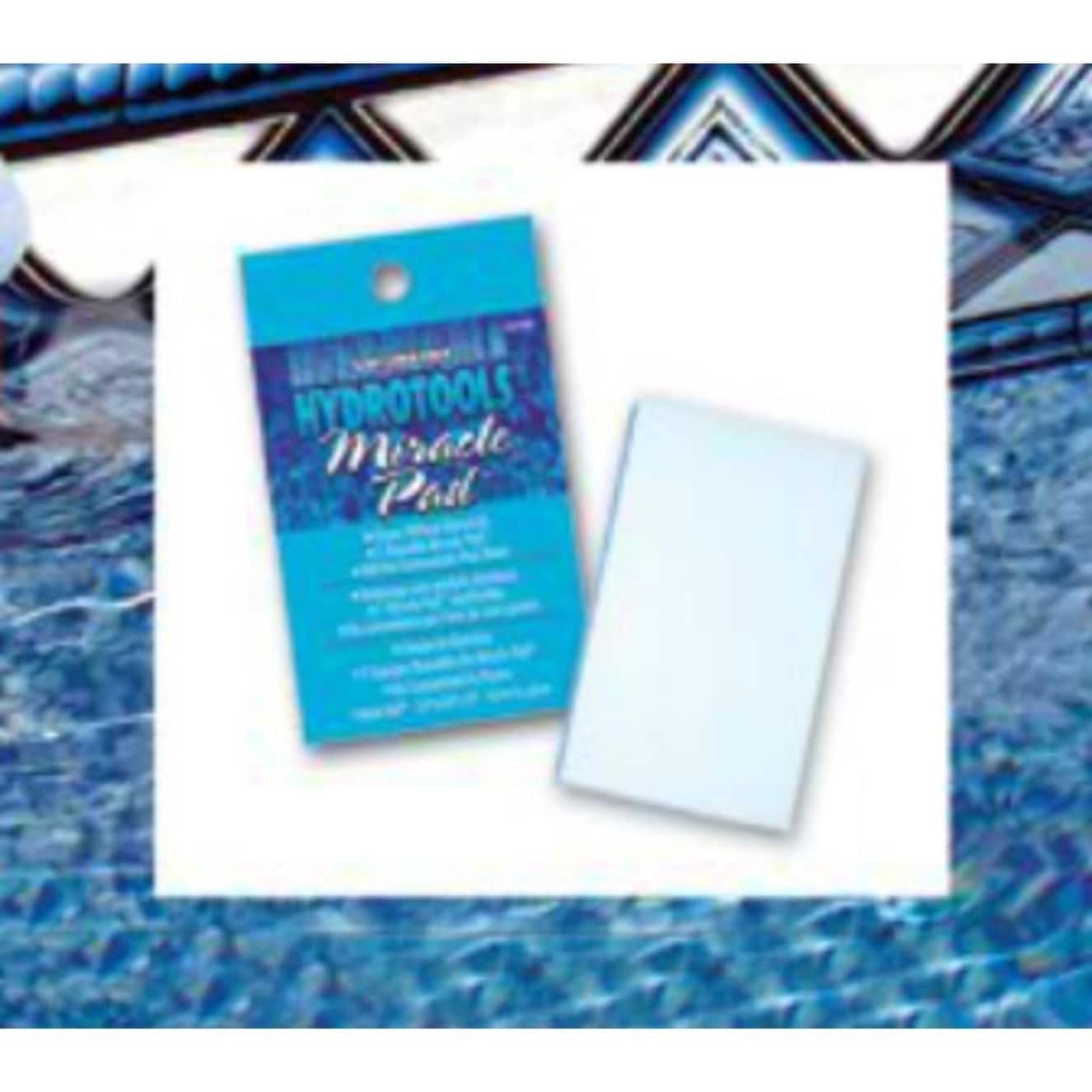 4.5 Blue HydroTools Swimming Pool and Spa Miracle Cleaning Pad - N/A